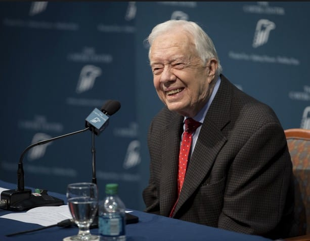 Jimmy Carter Says Doctors Found Cancer in His Brain