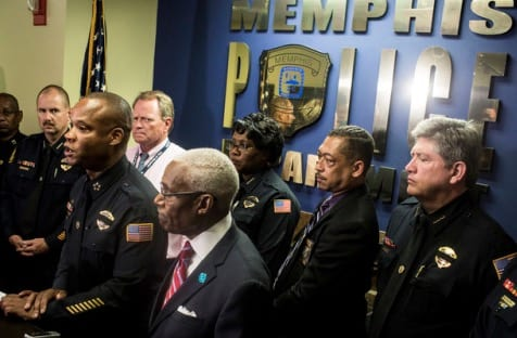 Memphis police shooting suspect turns himself in VIDEO