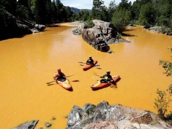 State Of Emergency After Colorado River Spill Turns Water Yellow VIDEO