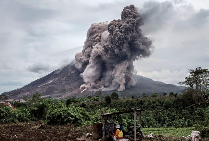 State Of Emergency Declared After Activity At Ecuador Volcano VIDEO