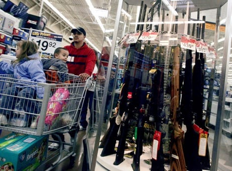 Wal Mart to Stop Selling Assault Rifles VIDEO