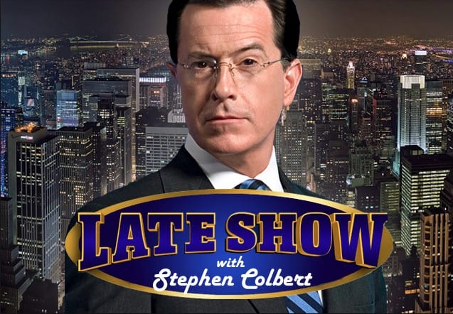 Get Ready The Late Show With Stephen Colbert Live Tonight