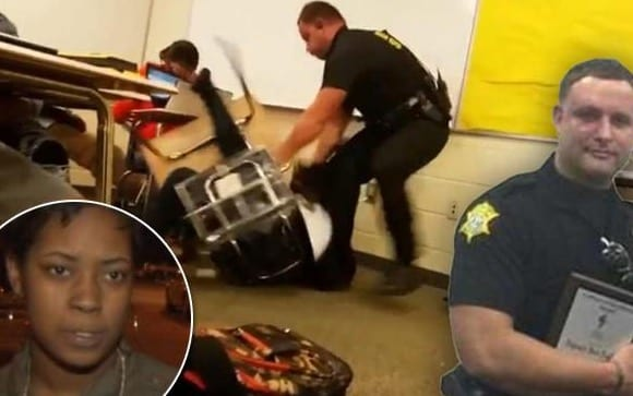 Assault At Spring Valley High Student Slammed To Floor And Dragged By Cop VIDEO