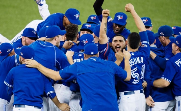 Blue Jays Win Game To Texas Rangers Advance To ALCS VIDEO
