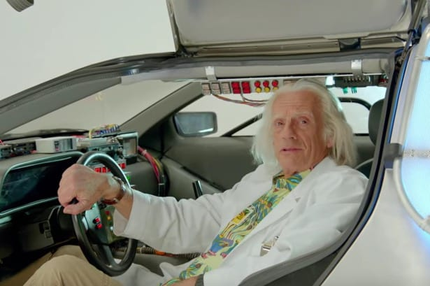 Doctor Emmet Brown Deliver Special Message in Honor of 'Back to the Future Day'