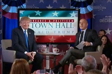 Watch Donald Trump Today Interview VIDEO