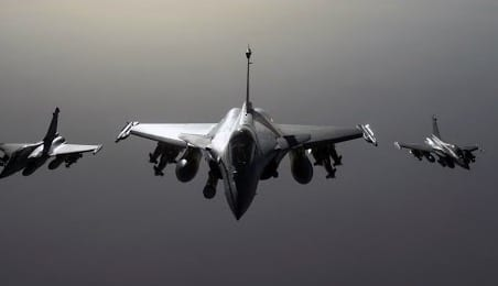 France Launches New Strikes on Raqqa