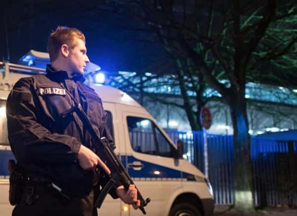 Germany Netherlands match called off due to threat VIDEO