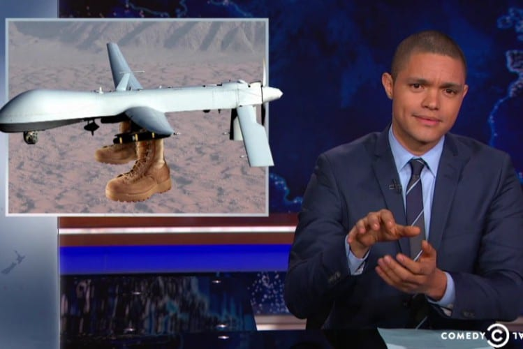 Trevor Noah Syria Kind Of Gets Boots On The Ground VIDEO1
