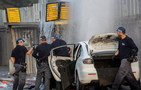 11 Wounded in Jerusalem Car Attack VIDEO1
