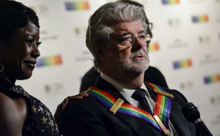 George Lucas Honored at Kennedy Center