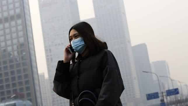 Smog Red Alert Triggered in China by Still Air VIDEO