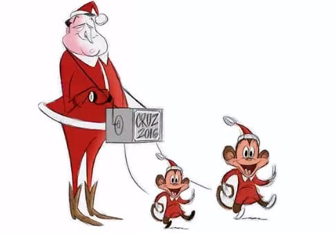 Ted Cruz Seeks 1M to Fight Back the WaPo Over Cartoon of Daughters as Monkeys