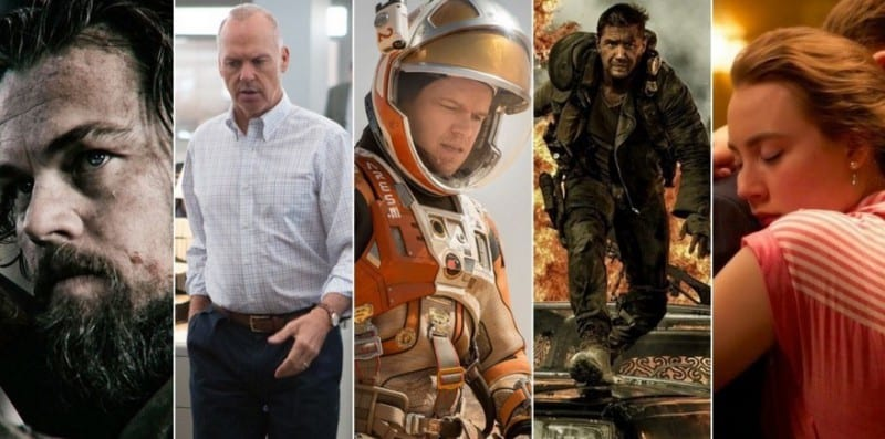 2016 Oscar Nominations Complete List Here