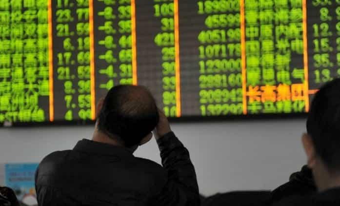 China Stocks Tank 7 Trading Suspended