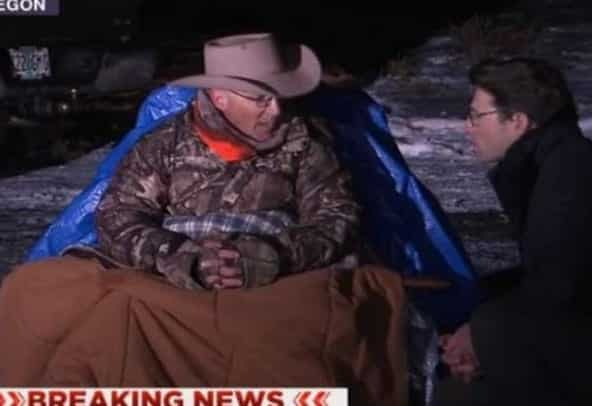 Oregon militant vows to die before being arrested as feds move to end occupation