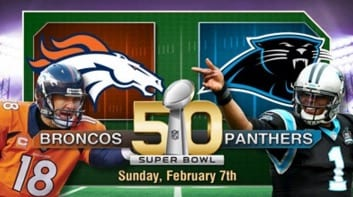Panthers Broncos Head to Super Bowl 50 VIDEO