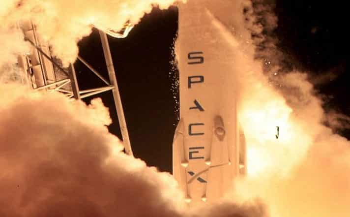 SpaceX Rocket Explodes After Landing