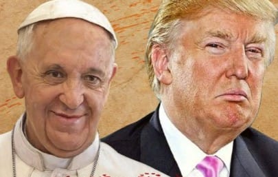 Donald Trump Says The Pope Is Disgraceful VIDEO