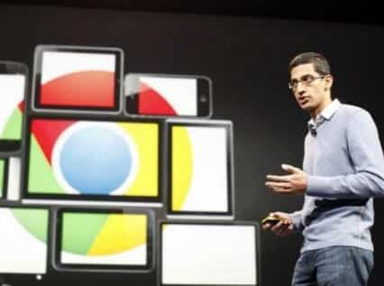 Google CEO Backs Apple in iPhone Fight VIDEO