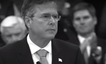 Jeb Brings out Brother George Bush for Desperate Superbowl Hail Mary Ad