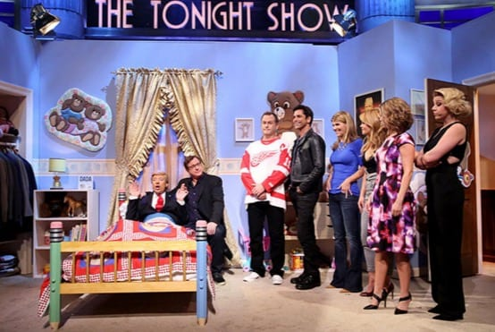 Jimmy Fallon Does Trump With Full House Cast VIDEO