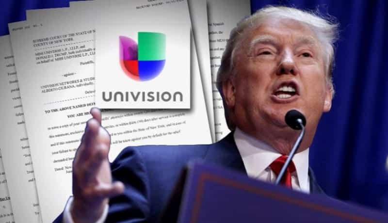 Trump and Univision Reach Settlement VIDEO