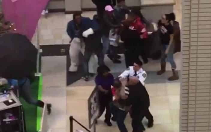Mall Easter Bunny Brawls in New Jersey