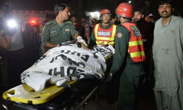 Taliban Faction Claims Park Bombing That Killed 70 In Pakistan