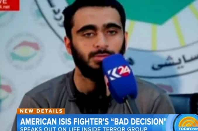 U.S. ISIS Recruit Tries to Blame Girl