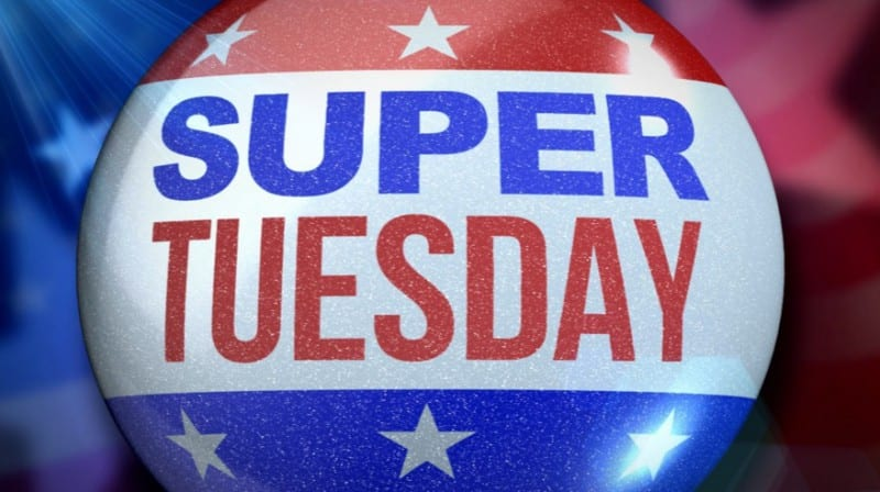 Voters Head To Super Tuesday Polls VIDEO