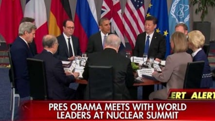 Nuclear SummitObama Meets With Brokers Of Iran Deal VIDEO