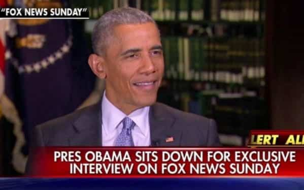 Watch Obama Interview With Fox News Chris Wallace VIDEO