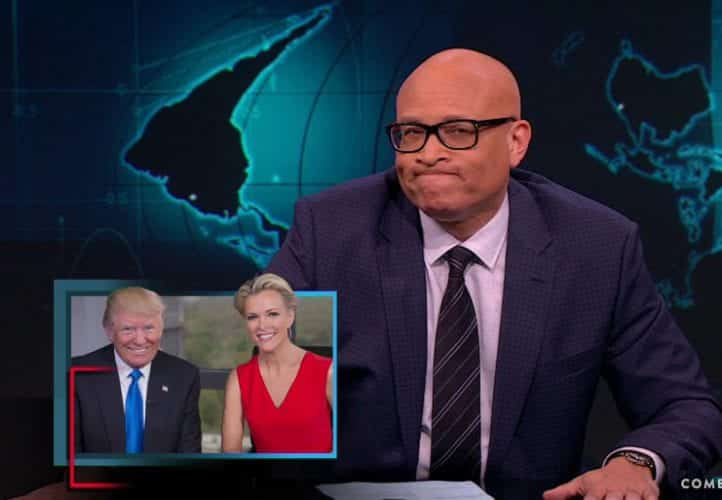 Larry Wilmore Donald Trumps Makes Out With Megyn Kelly