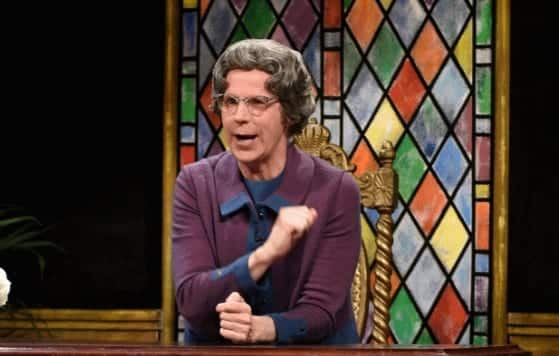The Church Lady Interview Donald Trump and Ted Cruz on SNL