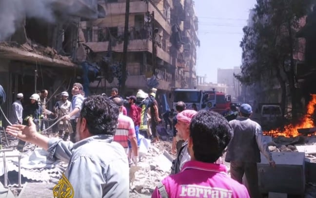 3 Hospitals In Syrias Aleppo Bombed in 3 Hours VIDEO
