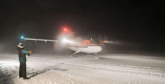 Rescued South Pole Workers Arrive in Chile VIDEO