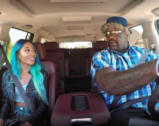 Shaquille O'Neal Lyft Driving Undercover In Atlanta VIDEO