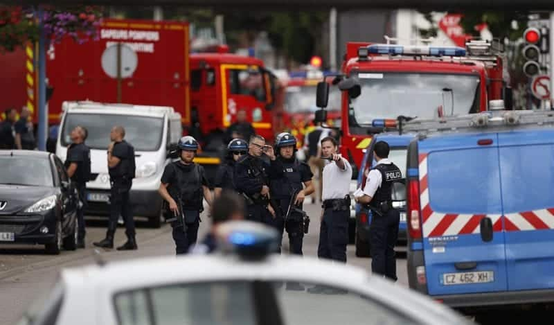 French Attackers Kill Priest in Normandy Church VIDEO