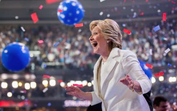 Hillary Clinton Accepts Presidential Nomination Watch Full Speech VIDEO 1