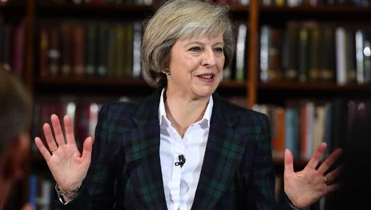 Theresa May Elected To Be U.K. PM VIDEO