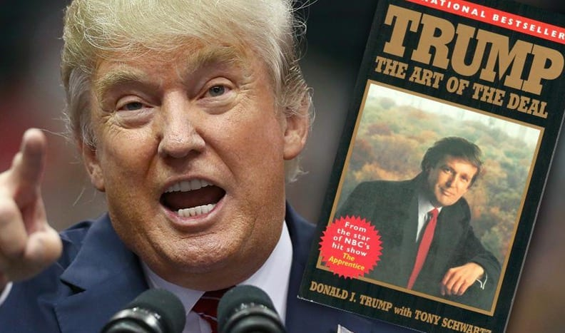 Trump Sends Cease and Desist Letter to 'Art of the Deal' Ghostwriter VIDEO