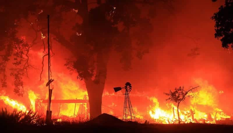 California Wildfires Destroy Homes And Force Hundreds To Evacuate