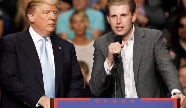 Eric Trump Dad Would Be 'Foolish' to Release