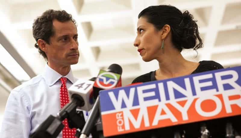 Huma Abedin Just Announced Shes Leaving Anthony Weiner