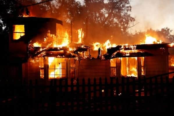 Man Charged With Arson for California's Clayton Wildfire VIDEO