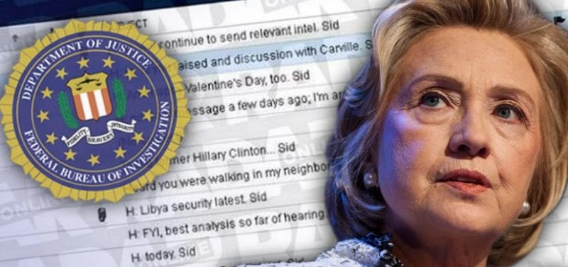 FBI Releases Clinton Email Investigation
