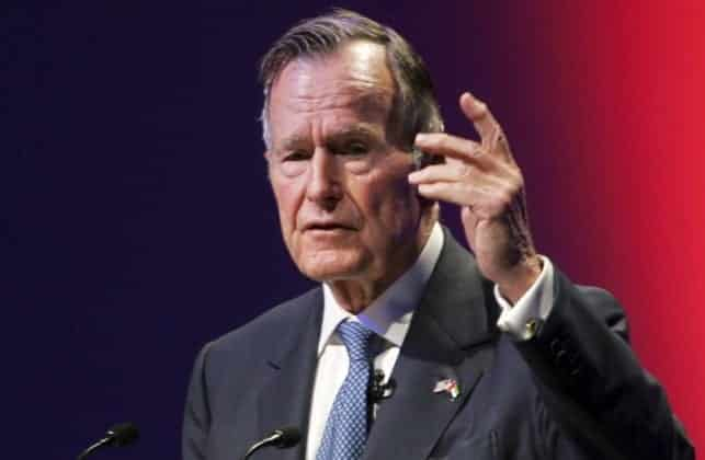 George H.W. Bush To Vote For Hillary