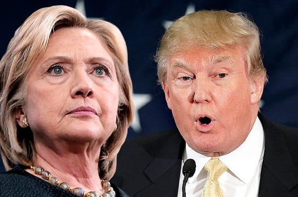 National poll .Clinton leads Trump by 5