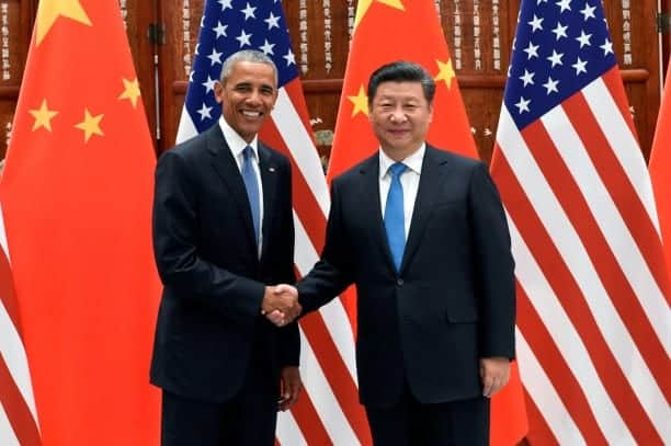 Paris Climate Deal US And China Announce Ratification